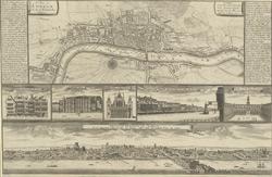 A plan of London as in Q. Elizabeth's days